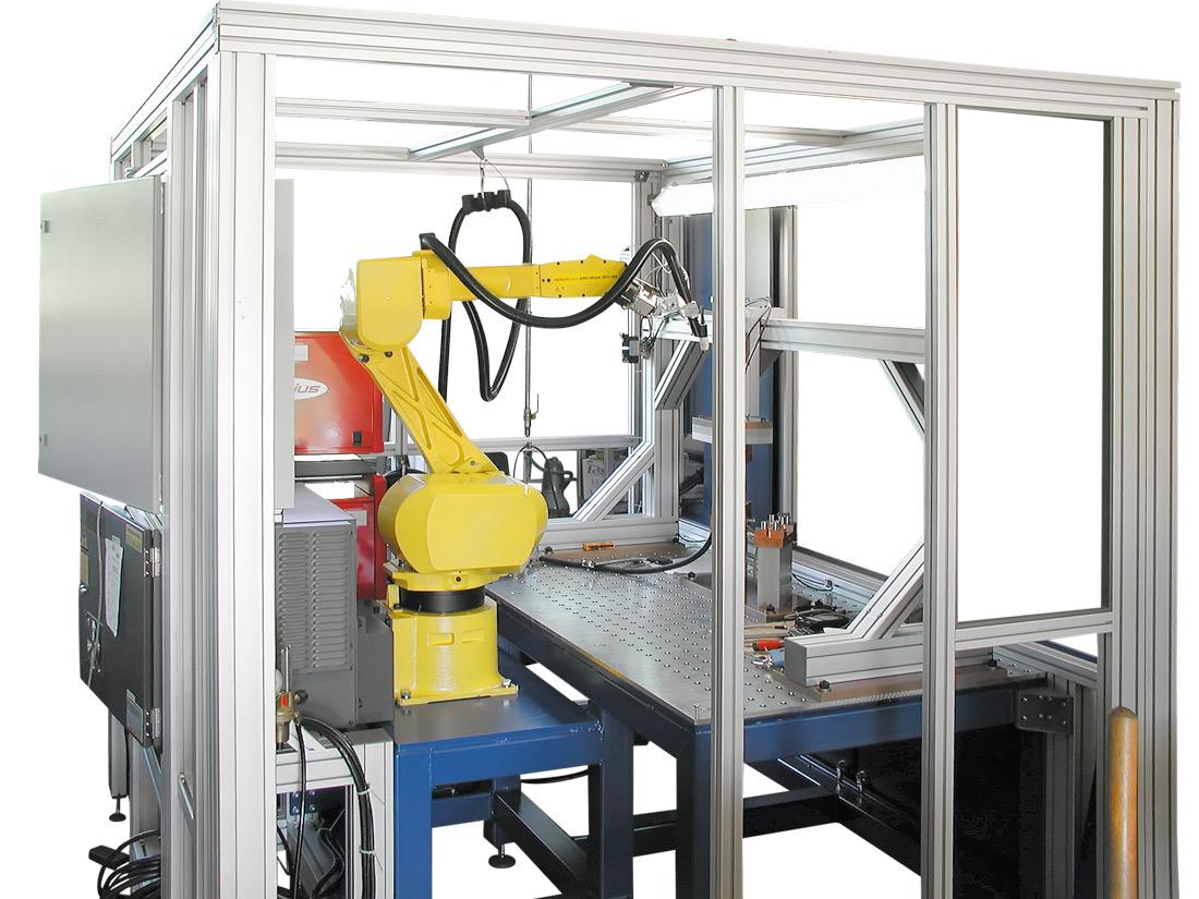 WIG Schweissautomat 6-Achs-Roboter