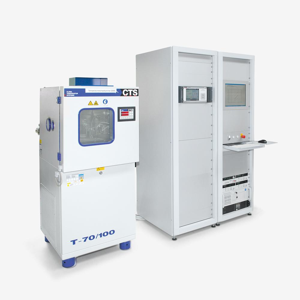 Unit of pressure sensors in the temperature room